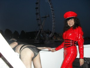boat party london eye 300x225 The Boat Party And Anaths First Rope Bondage Experience